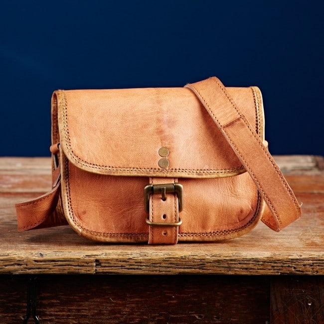 100 Genuine Leather Bag Messenger Office School College Laptop Shoulder Vintage Uk Craftshades Inc