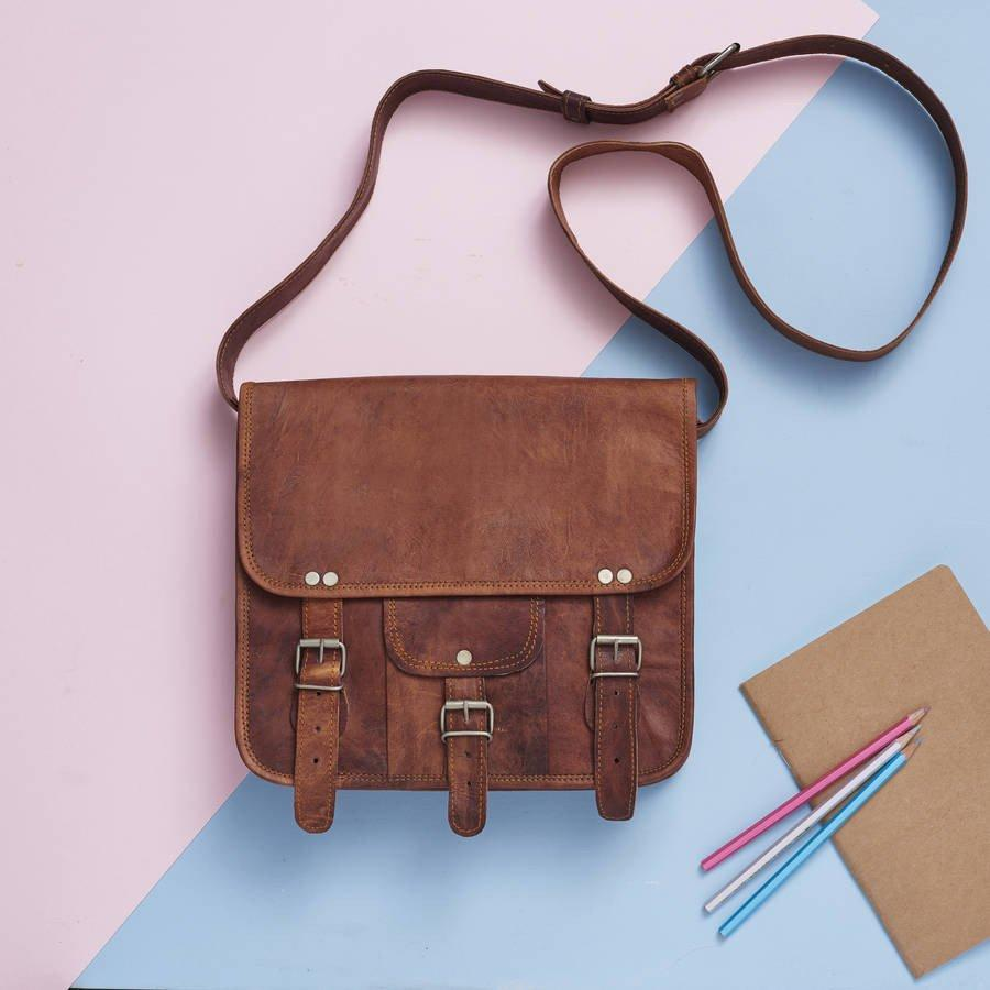 55749e6c64ee 100% Genuine Leather Bag