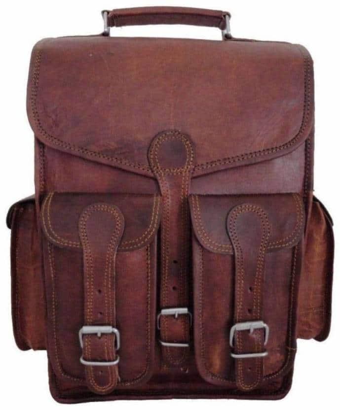 6c092c908615 CraftShades vintage leather backpack - CraftShades Inc.
