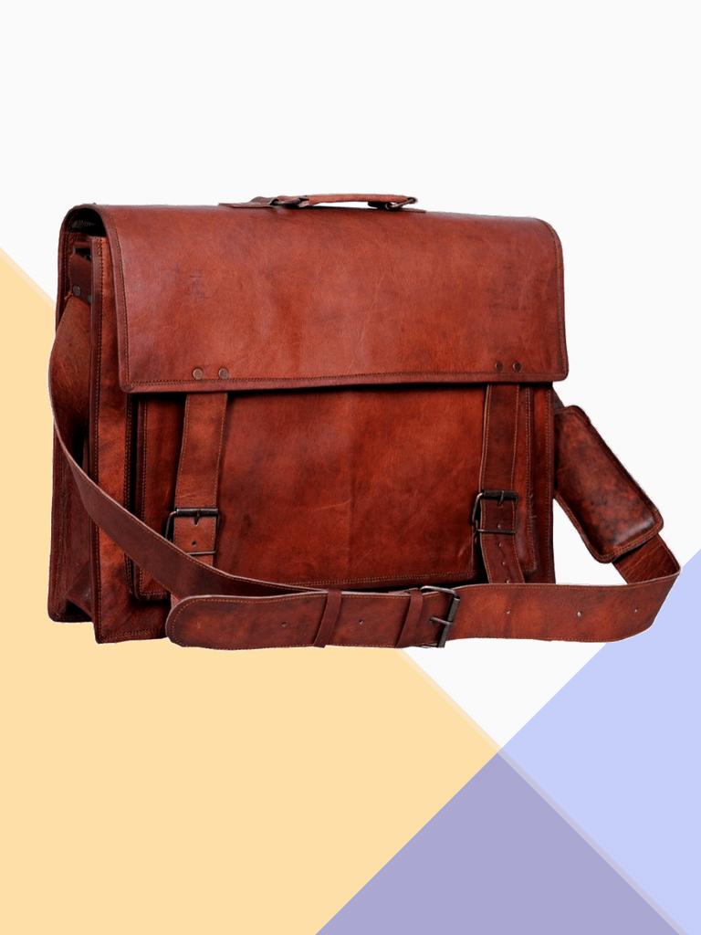 1103cfceb450 craftshades 15inch Backpack (Brown) - CraftShades Inc.