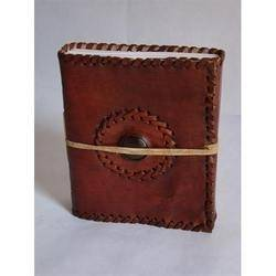 Handmade leather diaries in India