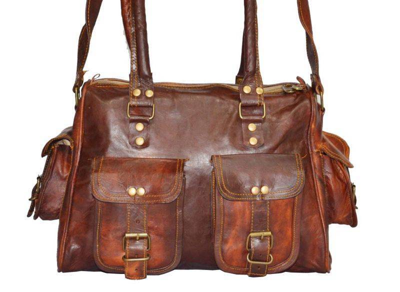 Handmade leather bags in Jaipur
