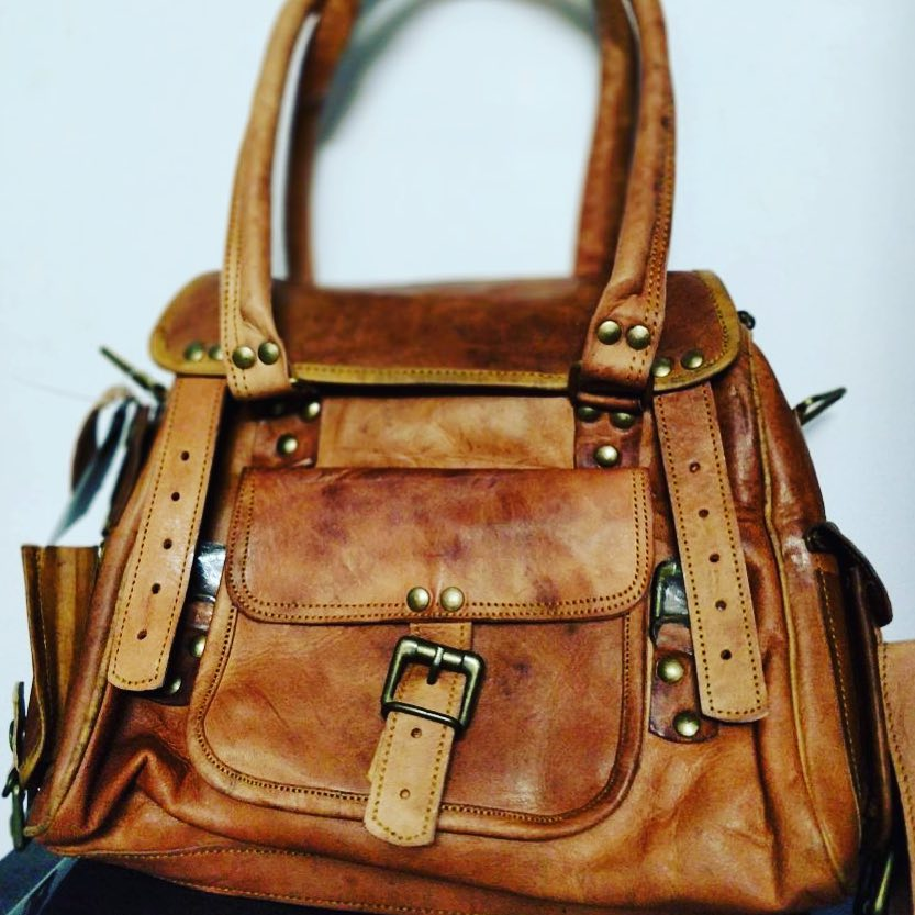 d3b49a237366 Handmade Leather Sling Bags